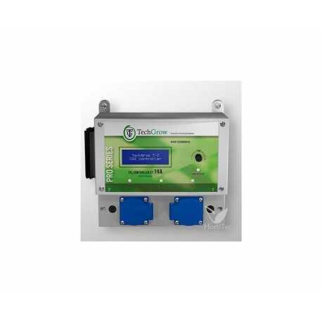 CONTROLADOR DE CO2 T-2 PRO (14 A) SIN SENSOR TECHGROW