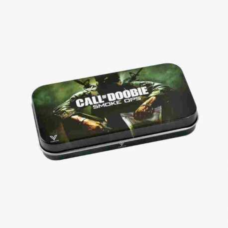 SYNDICASE TIN BOX CALL OF DOOBIE 12 X 6,5 CM | V-SYNDICATE