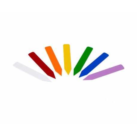 ETIQUETA GROWER'S EDGE 1000u (Color a elección: Amarillo, Azul, Blanco, Lavanda, Naranja, Rojo, Verde)