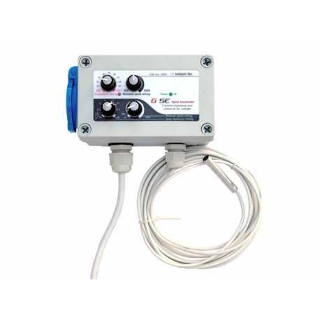 GSE Controlador Hesteresis y temperatura. 10 A